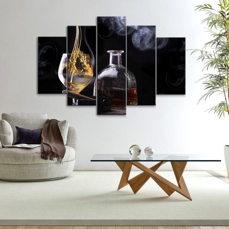 Картина Сигара И Виски