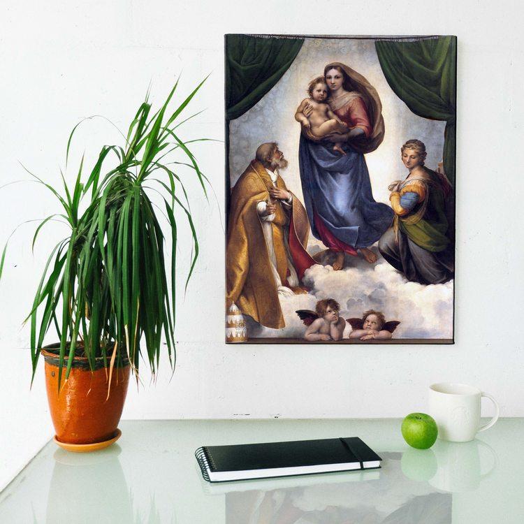 Картина Рафаэль Санти - Сикстинская Мадонна