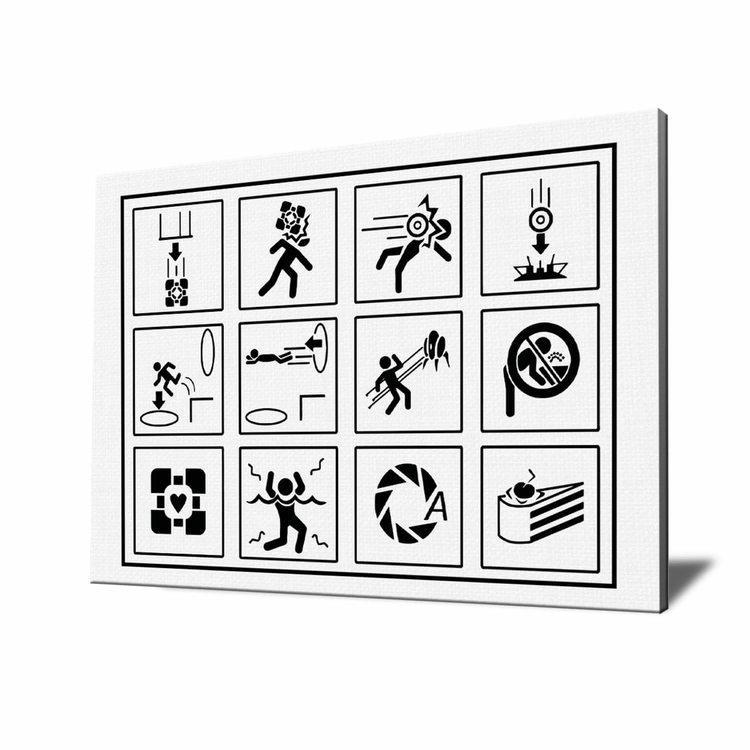 Картина Символы Портал