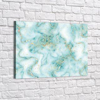 Картина Сине-Зеленый Мрамор - p53850
