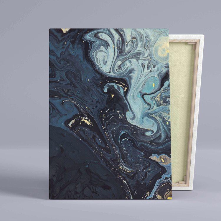 Картина Синий Мрамор - p53841