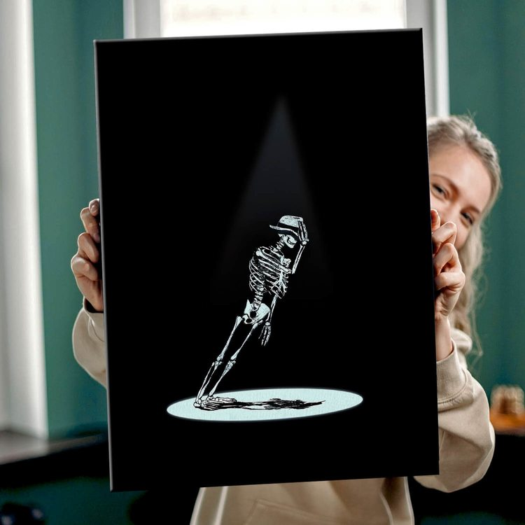 Картина Скелет Джексон