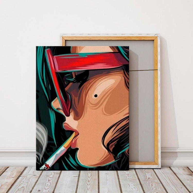 Картина Smoky Girl