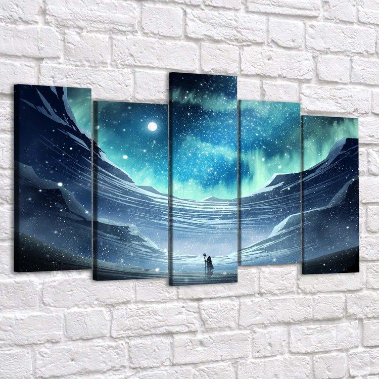Картина Снежные Горы
