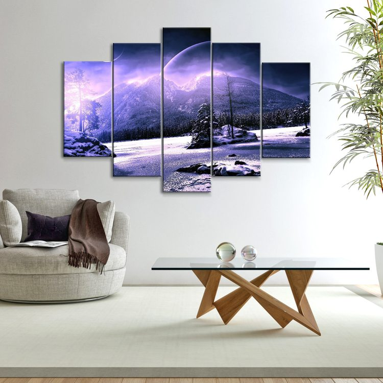 Картина Снежные Холмы