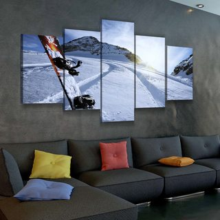 Картина Сноуборд
