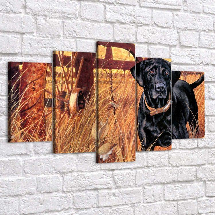 Картина Собака Друг И Охранник