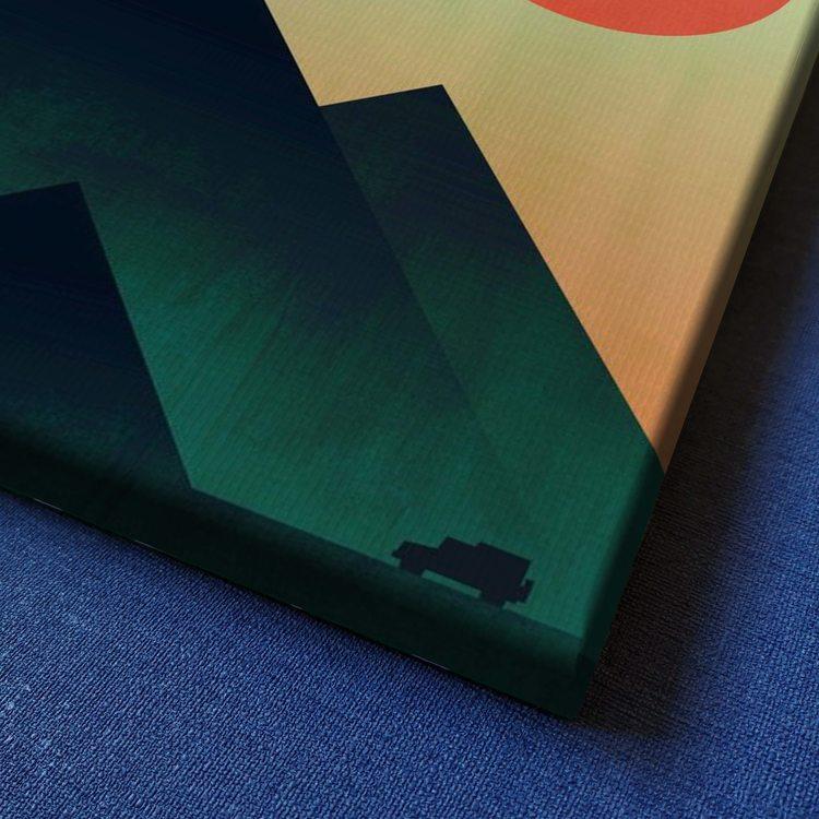 Картина Солнце в Зените Абстракция