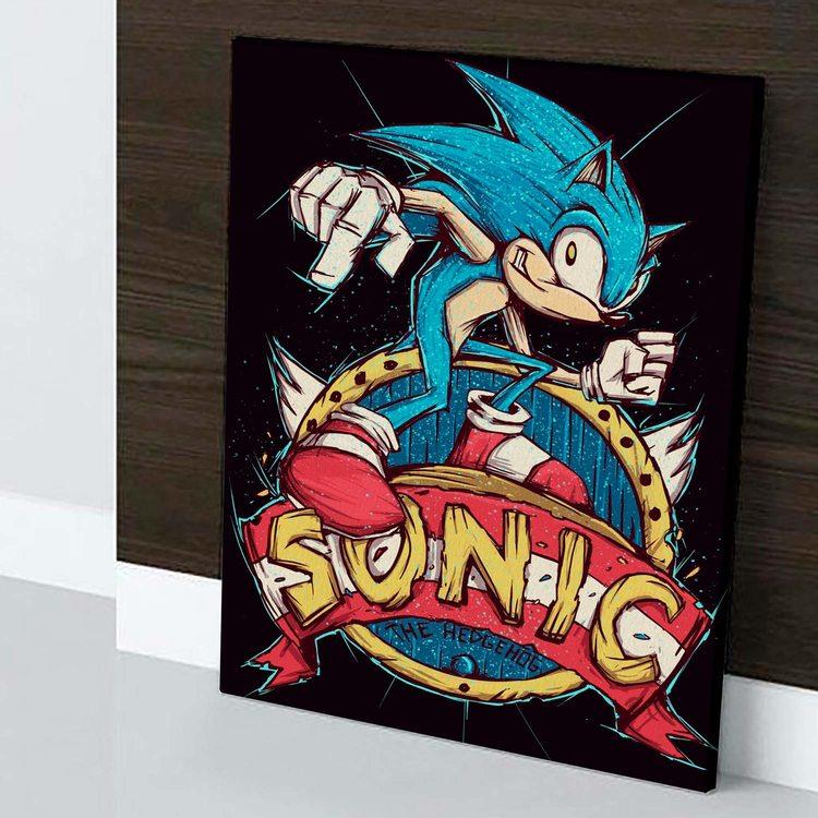 Картина Соник The Hedgehog