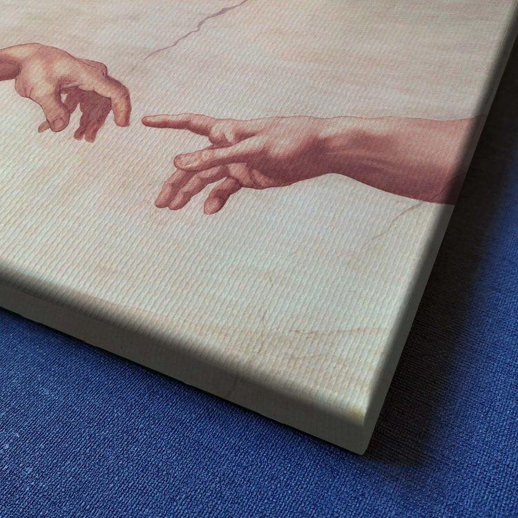 Картина Микеланджело - Сотворение Адама