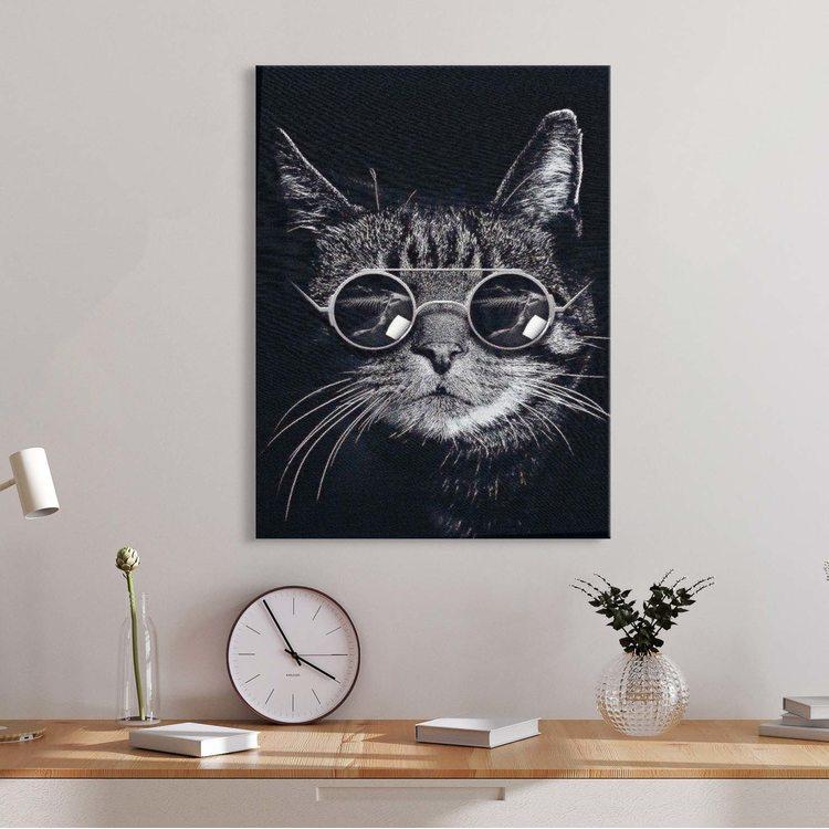 Картина Стильный Котик