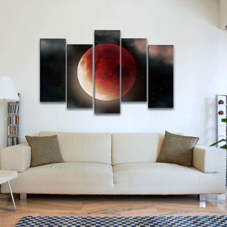 Картина Суперлуна