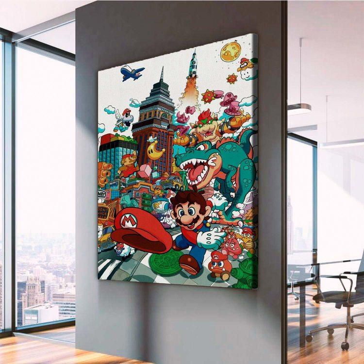 Картина Супермариоленд