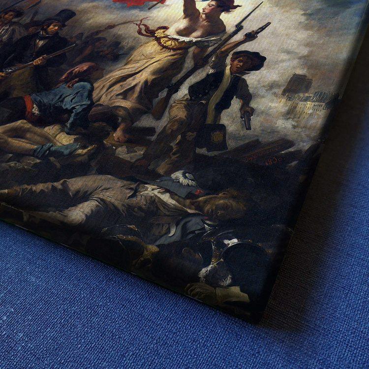 Картина Эжен Делакруа - Свобода Ведущая Народ