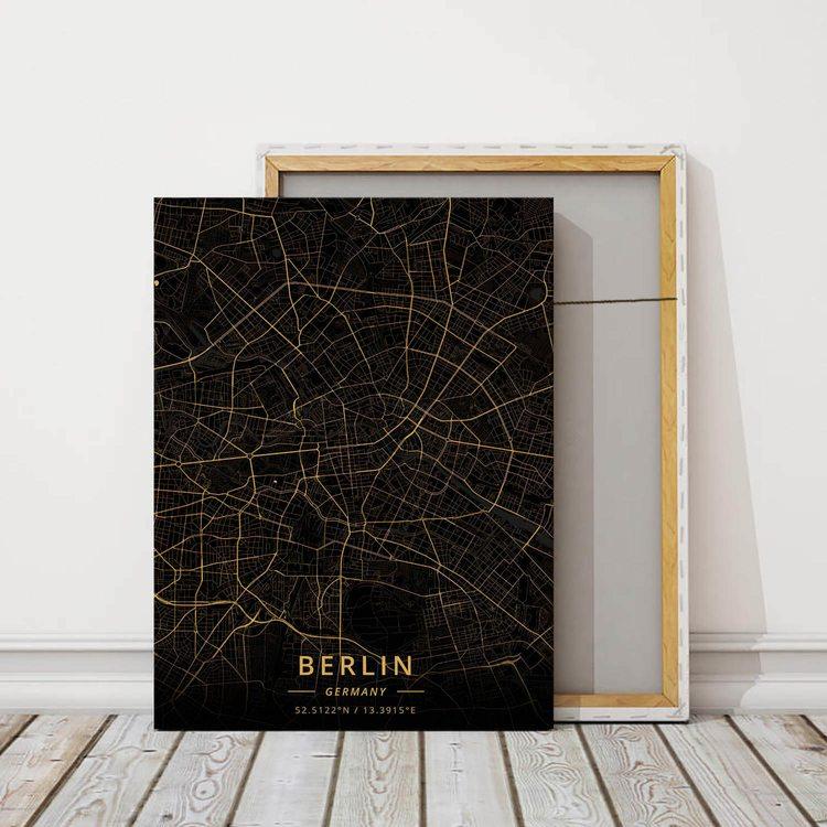 Картина Темная Карта Берлин