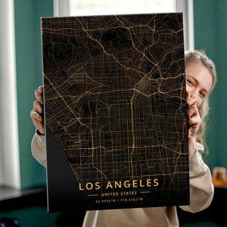 Картина Темная КартаЛос-Анджелес