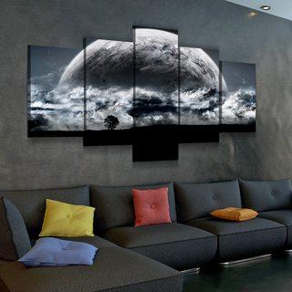 Картина Темная Луна