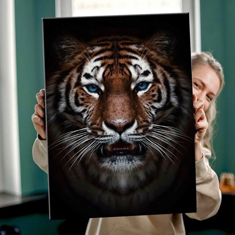 Картина Тигриная Твёрдость