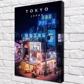 Картина Токио Япония