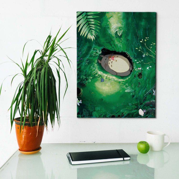 Картина Тоторо - Поляна