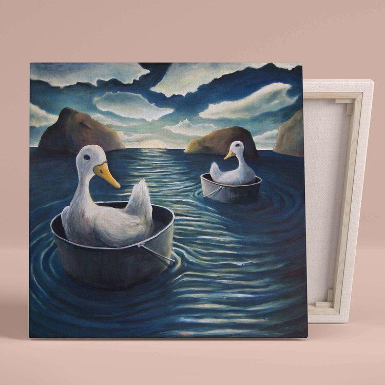 Картина Утки В Море - p53735