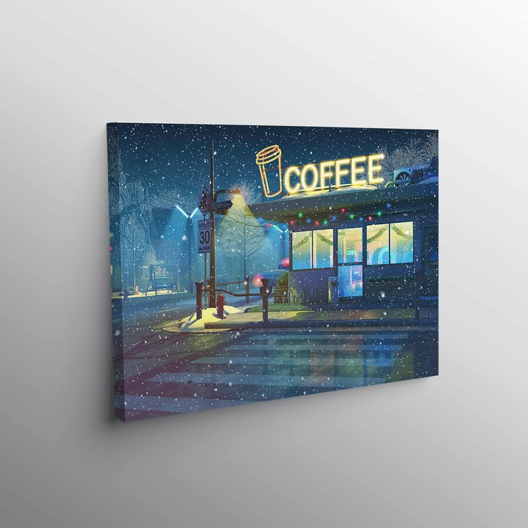 Картина Уютный Зимний Вечер - p53674
