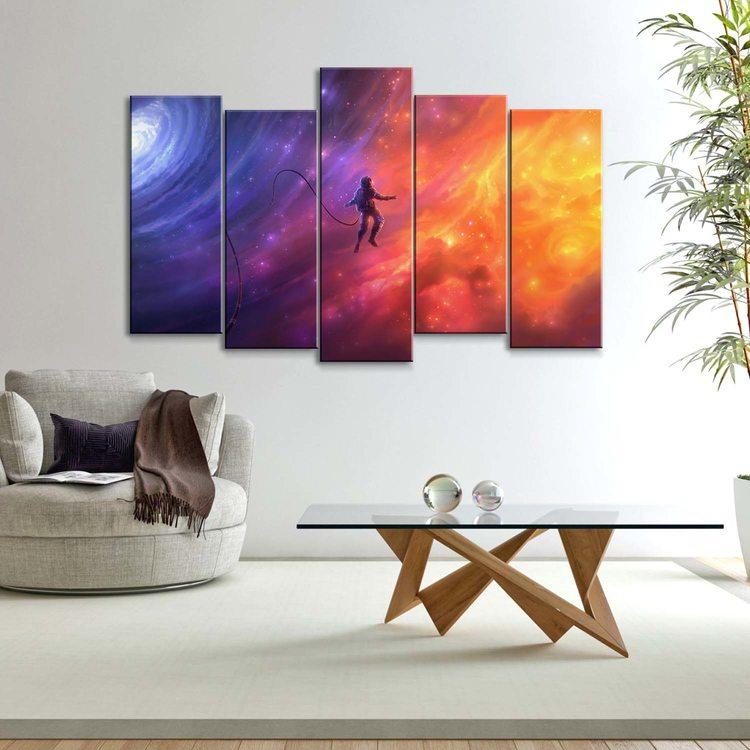 Картина Бескрайний Космос
