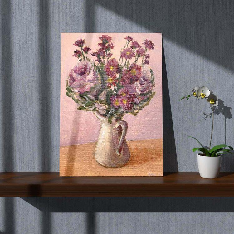 Картина Винтажный Букет - p53684