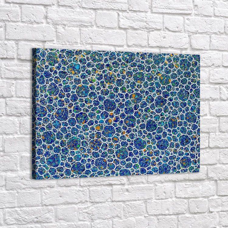 Картина Водяные Пузырьки Абстракция - p53711