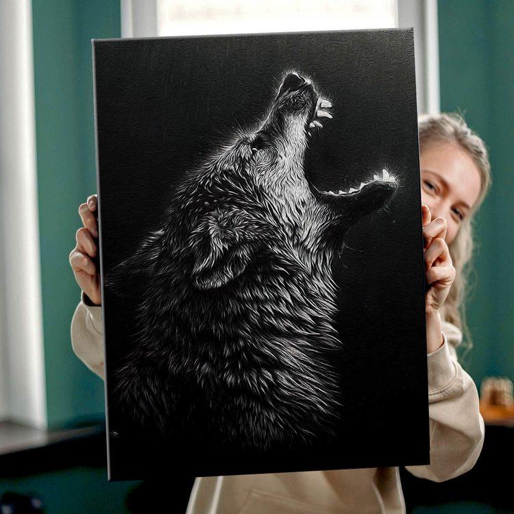 Картина Волчий Вой