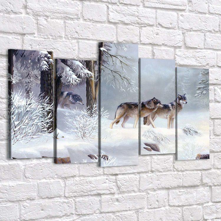 Картина Вольные Волки