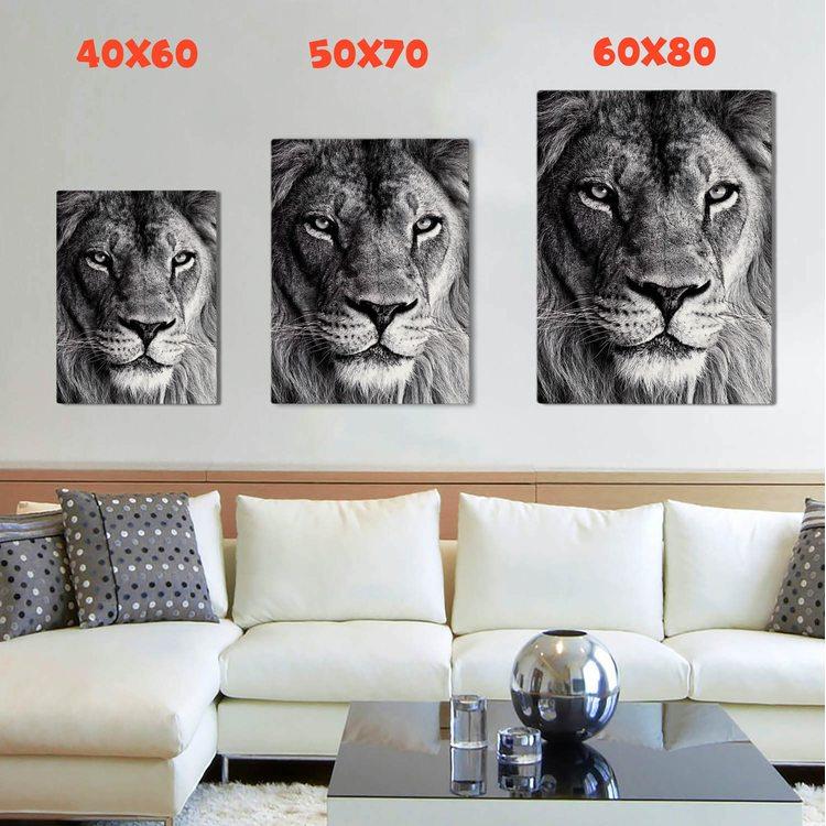 Картина Взрослый Лев