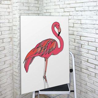Картина Яркий Фламинго