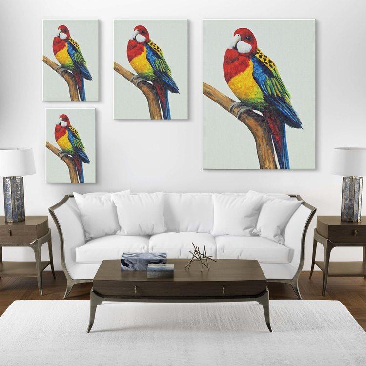 Картина Яркий Попугайчик - p53699