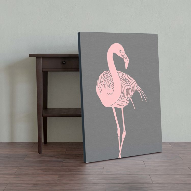 Картина Задумчивый Фламинго