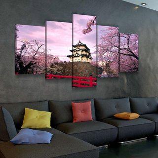 Картина Замок Хиросаки