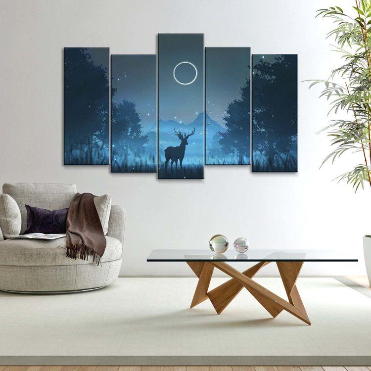 Картина Затмение В Горах