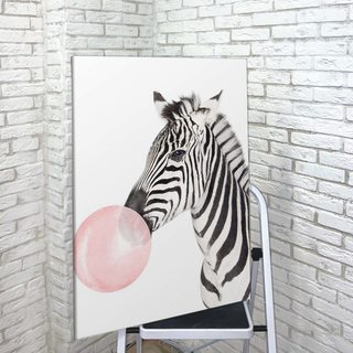 Картина Зебра Bubble Gum