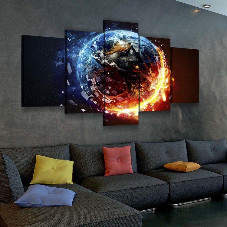 Модульная картина Земля