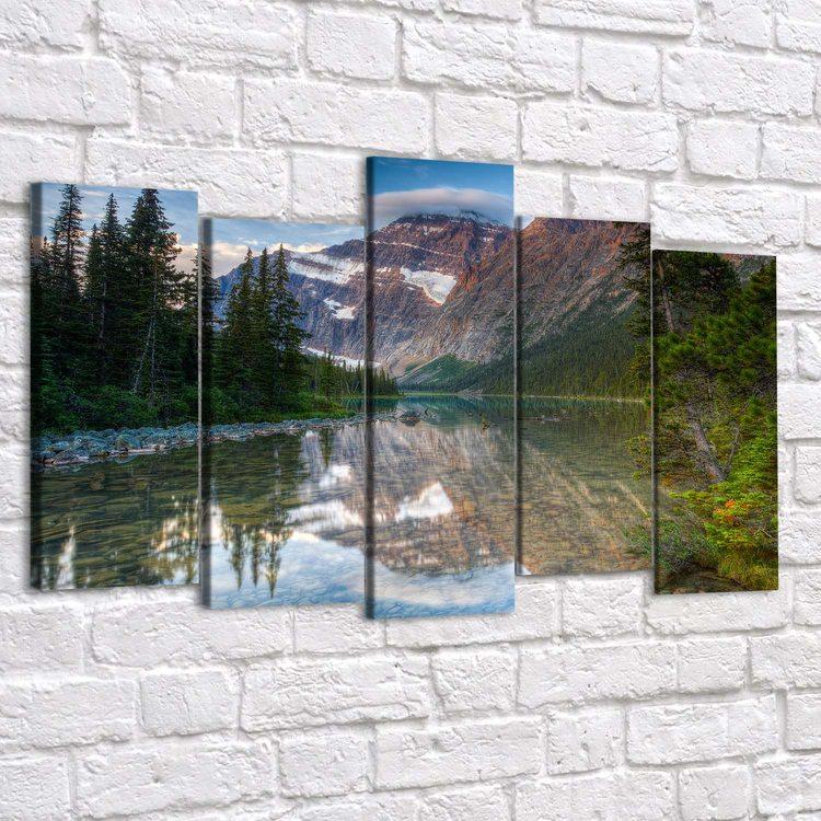 Картина Зеркальная Река