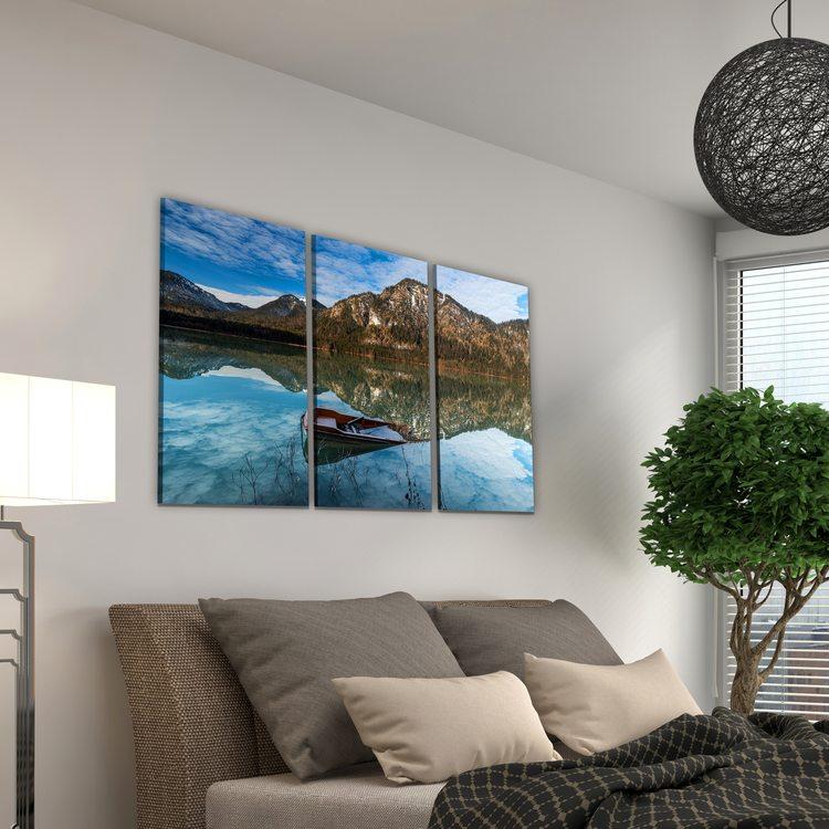 Картина Зеркальное Озеро