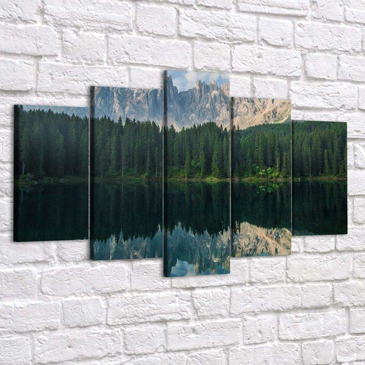 Картина Зеркальный Лес