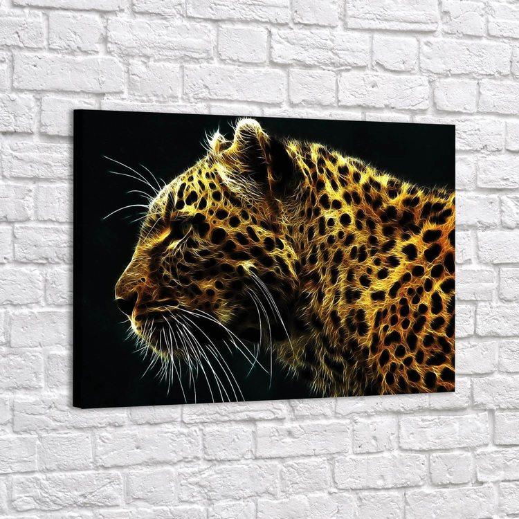 Картина Золотистый Леопард - p53614