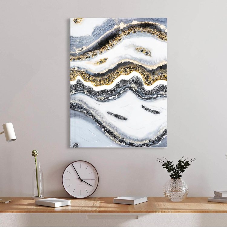 Картина Золотистый Мрамор - p53840