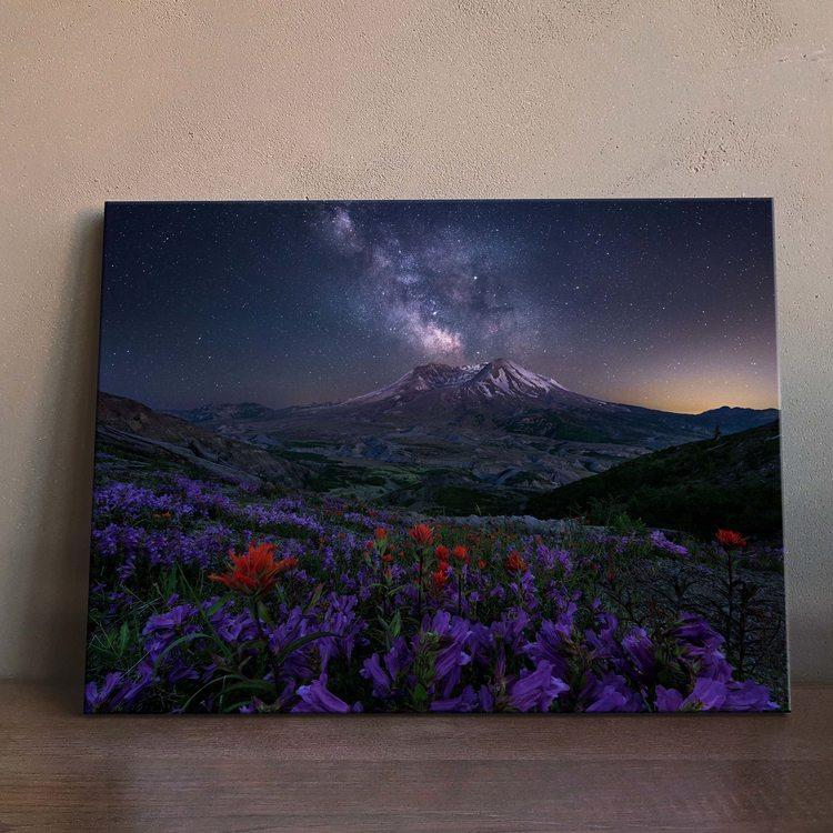 Картина Звёздная Ночь В Горах
