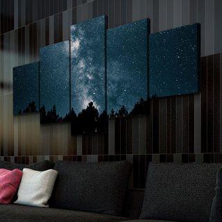 Картина Звезды и Лес