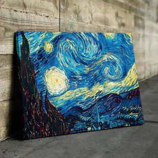 Картина Звёздная Ночь Ван Гог