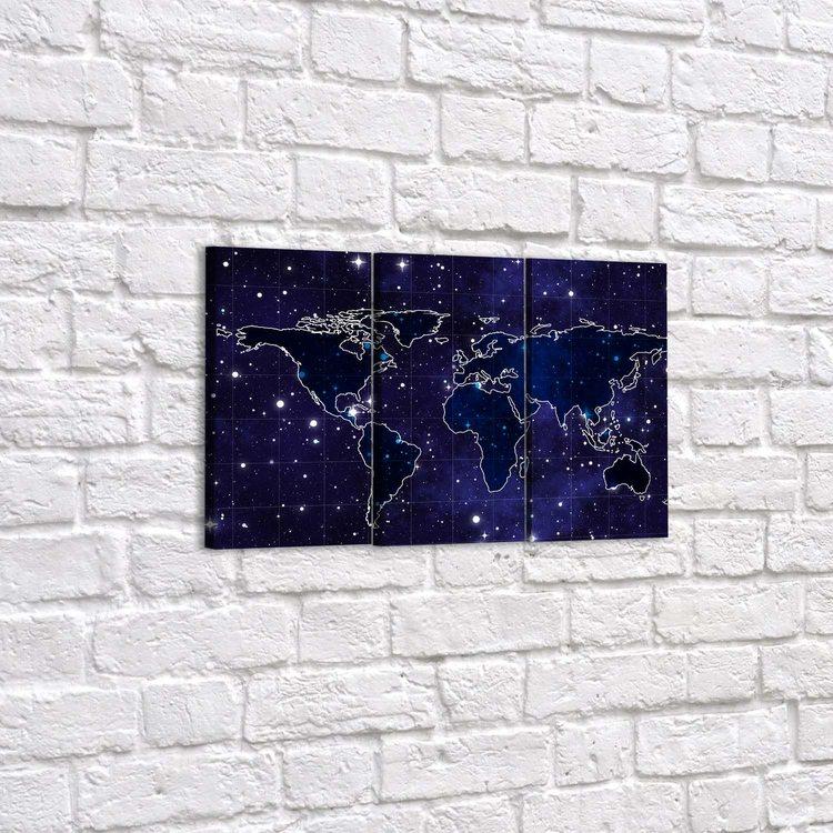 Картина Звёздные Континенты