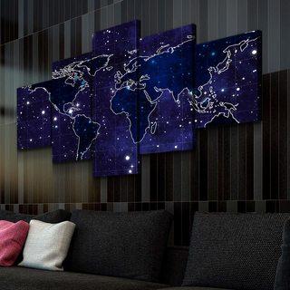 Модульная картина Звёздные Континенты