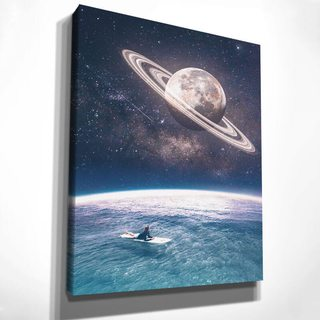 Картина Звёздный Сёрфинг